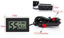 Термометр с гидрометром и выносным датчиком