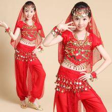 Восточные танцы костюм детский красный