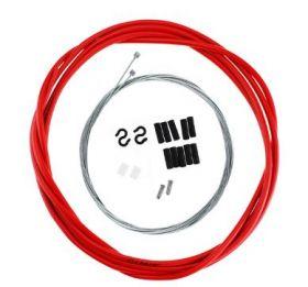 Комплект тросиков для переключения скоростей красный