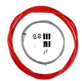 Комплект тросиков тормозных для велосипеда красный