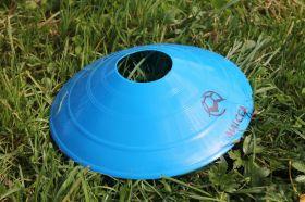 Конус для разметки поля футбольный ( фишка) - синий