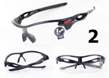 Спортивные велосипедные очки OKEY прозрачные