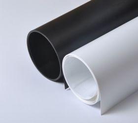 Фон для предметной фотосъемки ПВХ 100х200 см Черный
