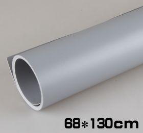 Фон для предметной фотосъемки ПВХ 68х130 см Серый