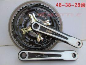Комплект шатунов для велосипеда алюминий  48 зубов
