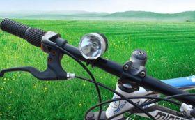 Фонарь велосипедный передний