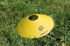 Конус для разметки поля футбольный ( фишка) - Желтый