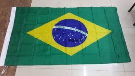 Флаг Бразилия государственный 90х150 см