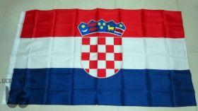 Флаг Хорватия государственный 90х150 см