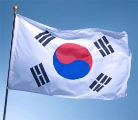 Флаг Южная Корея государственный 90х150 см