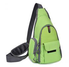 Рюкзак через плечо для камеры Canon салатовый