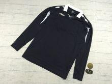 Поло футбольного арбитра Umbro черная