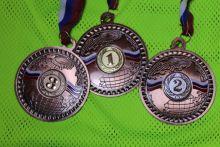 Комплект медалей больших 70 мм за 3 места
