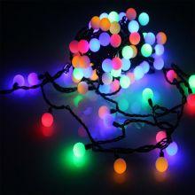Гирлянда Neon-Night шарики цветная, светодиодная, 40 LED, диаметр 18 мм, 4 м