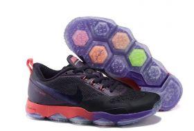 Баскетбольные кроссовки Nike zoom elite 7 BLACK PURPLE