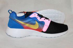Кроссовки Nike Roshe Run Black Pink
