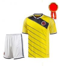Форма футбольная Желтая на команду Колумбия