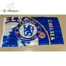 Флаг футбольный Челси 90х150 см