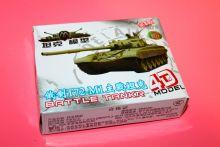 Сборная модель танка Т-72 без клея