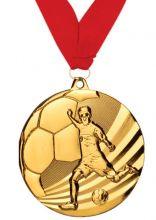Медаль Мундиаль наградная с лентой 1 место 50 мм