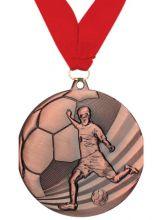 Медаль Мундиаль наградная с лентой 3 место 50 мм