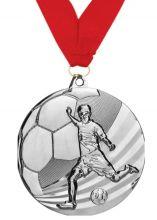 Медаль Мундиаль наградная с лентой 2 место 50 мм