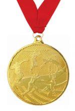 Медаль Легкая атлетика наградная с лентой 1 место 50 мм