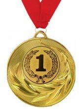 Медаль Торко наградная с лентой 1 место 50 мм