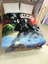 Плед одеяло флисовый Звездные войны 150х200 см
