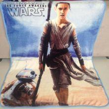 Плед одеяло флисовый Звездные войны 100х120 см