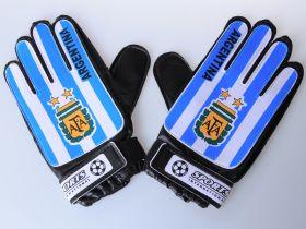 Перчатки вратарские детские и подростковые Аргентина